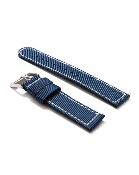 Nylon Watch Strap Alpina Startimer Pilot Quartz Blue